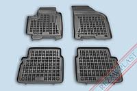 Коврики в салон Chevrolet Aveo 2002-2011 REZAW PLAST Полиуретан Черные Комлект из 4-х ковриков