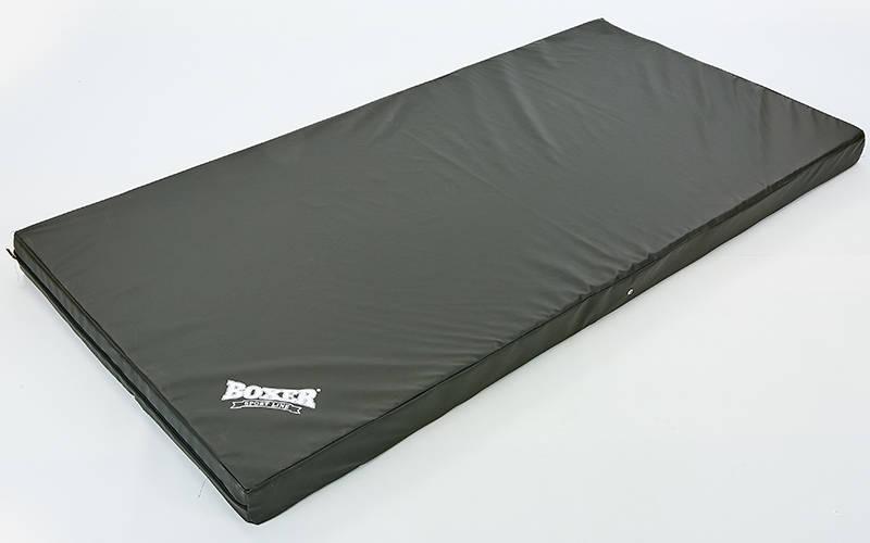 Мат спортивный Кожвинил 2x1м x 10см 1009-02 BOXER (наполнитель-поролон,плотность 25кг/м, на молнии, цвета в ассортименте)