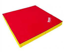 Мат спортивный Кожвинил 2x1м x 10см 1009-02 BOXER (наполнитель-поролон,плотность 25кг/м, на молнии, цвета в ассортименте), фото 2
