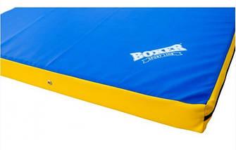 Мат спортивный Кожвинил 2x1м x 10см 1009-02 BOXER (наполнитель-поролон,плотность 25кг/м, на молнии, цвета в ассортименте), фото 3