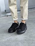 Стильные женские кроссовки Alexander McQueen (Александр Маквин) Black, фото 5