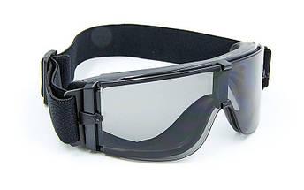 Очки тактические прозрачный визор TY-X800, фото 2