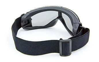 Очки тактические прозрачный визор TY-X800, фото 3