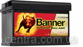 Автомобильный аккумулятор Banner 6СТ-70 Running Bull AGM 57001