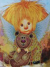 Набор для вышивки бисером Домовенок с игрушкой Д 255
