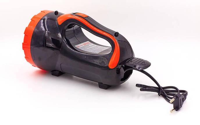 Фонарик ручной кемпинговый (для машины) BL-8830 (пластик, 30 светодиодов, l-21см, черный-красный), фото 2