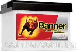 Автомобильный аккумулятор Banner 6СТ-63 Power Bull PROfessional PRO P63 40