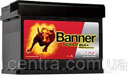 Автомобильный аккумулятор Banner 6СТ-63 Power Bull PROfessional PRO P63 42