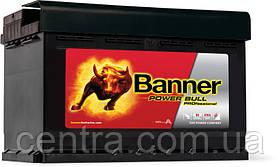 Автомобильный аккумулятор Banner 6СТ-77 Power Bull PROfessional PRO P77 42