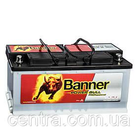 Автомобильный аккумулятор Banner 6СТ-110 Power Bull PROfessional PRO P110 40