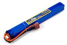 Акумулятор для страйкболу Giant Power Li-Pol 11.1 V 3S 1500mAh 25C 20х19х167мм T-Plug