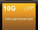 10G (очень очень светлый блондин золотистый) Тонирующая крем-краска без аммиака Matrix Color Sync,90 ml, фото 2
