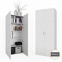 Шкаф с полками для спальни, дома, прихожей, офиса KV0086