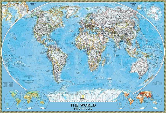 Карта мира — печать на заказ