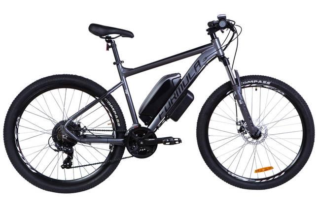 """Электровелосипед 27.5"""" F-1 500Вт 36В, 14Ач, макс.пробег 55км, 45 км/ч (графитовый (м)), фото 2"""