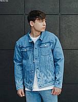 Куртка мужская джинсовая Staff blue fire2