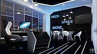 Дизайн и 3D визуализация интерьера (квартиры). 150 кв.м