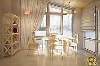 Дизайн и 3D визуализация интерьера (квартиры). 75 кв.м