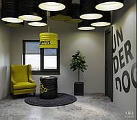 3D візуалізація інтер'єру (квартири). 150 кв. м, фото 1