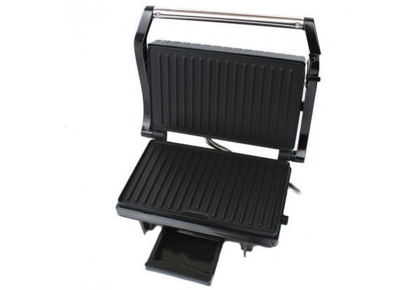 Прижимний гриль Grant GT 783 1500W з регулятором температури і відсіком для жиру (Сэндвичница)