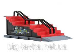 Пальчиковый скейтборд и скейт парк Tech Deck F  Красный