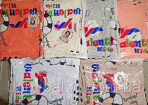 """Красивая футболка  для девочки """"Кошка"""" (от 1 до 4 лет), фото 3"""