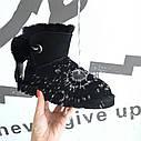 Я3,  Женские UGG угги Irina Ирина натуральные черные Оригинал  Размер   US5 22,5-23 см, фото 5