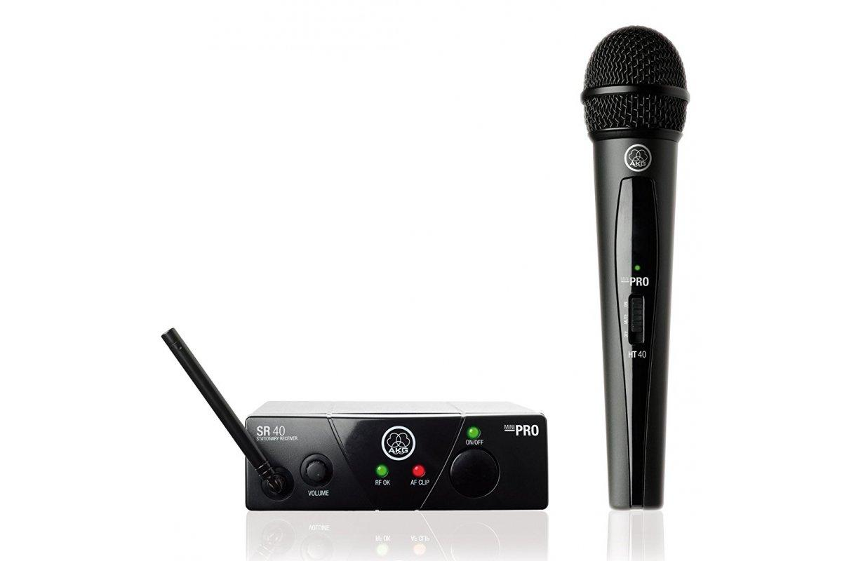 Микрофонная радиосистема AKG WMS40 Mini Vocal Set BD US45A