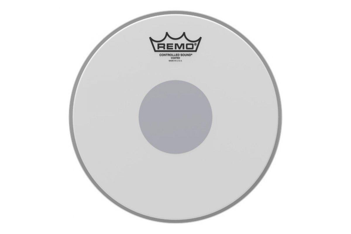 "Пластик для барабана REMO CS 10"" COATED BLACK DOT"