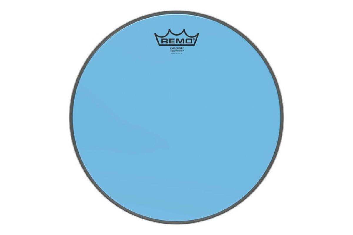 """Пластик для барабана REMO EMPEROR 12"""" COLORTONE BLUE"""