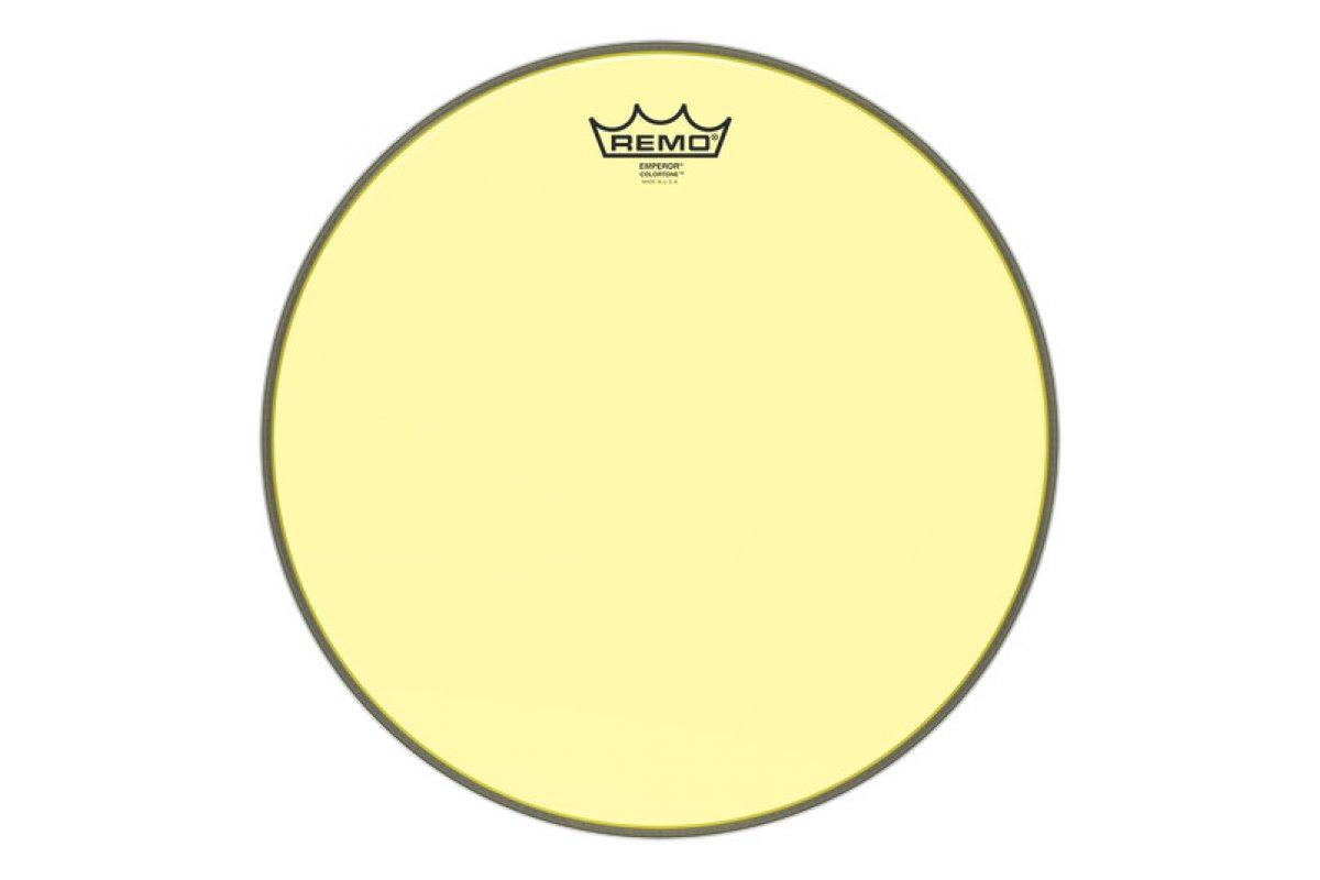 "Пластик для барабана REMO EMPEROR 14"" COLORTONE YELLOW"