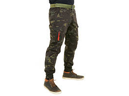 Spodnie Joggery (Rozmiar 36) - MultiCam Black [EmersonGearS] (для страйкболу)