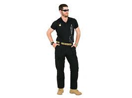 Spodnie taktyczne all-weather Outdoor Pants 30W - Black [EMERSONGEAR] (для страйкболу)
