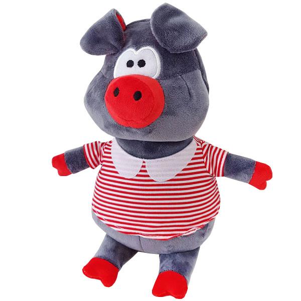 Мягкая игрушка ТМ Золушка Поросенок Хосе в красном - (23см)