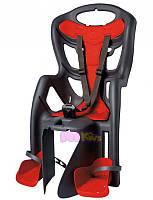 Велокресло Bellelli Pepe Италия на багажник Серое