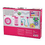 Детские ходунки-каталка Viga Toys с бизибордом, розовый (50178), фото 3