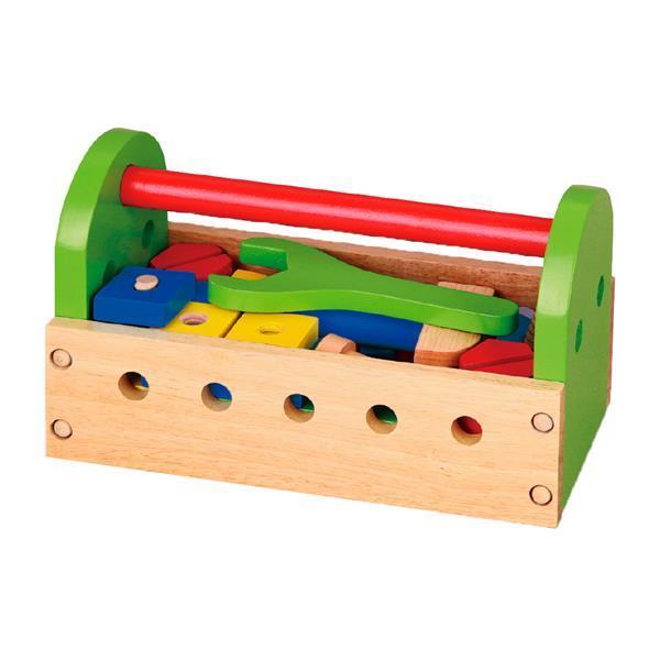 Деревянный игровой набор Viga Toys Ящик с инструментами (50494)