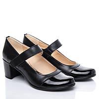 Туфли La Rose 2115 41 ( 27см ) Черная кожа