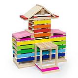 Деревянные строительные кубики Viga Toys Архитектурные блоки, 250 шт. (50956), фото 5