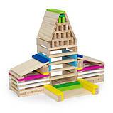 Деревянные строительные кубики Viga Toys Архитектурные блоки, 250 шт. (50956), фото 6