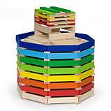 Деревянные строительные кубики Viga Toys Архитектурные блоки, 250 шт. (50956), фото 8