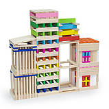 Деревянные строительные кубики Viga Toys Архитектурные блоки, 250 шт. (50956), фото 9