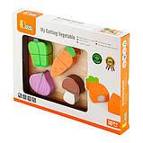 Игрушечные продукты Viga Toys Деревянные овощи (50979), фото 2