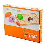 Игрушечные продукты Viga Toys Деревянные овощи (50979), фото 3