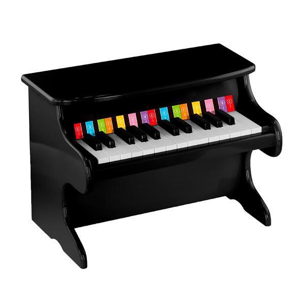 Музыкальная игрушка Viga Toys Первое пианино, черный (50996)