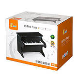 Музыкальная игрушка Viga Toys Первое пианино, черный (50996), фото 2