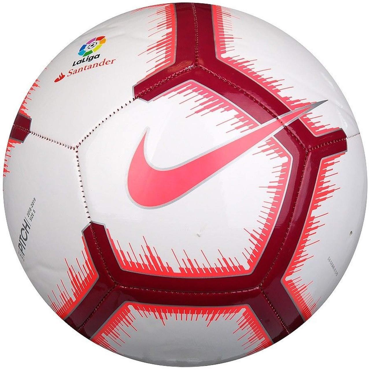 Мяч футбольный Nike La Liga Pitch SC3318-100 Size 5
