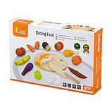 Игрушечные продукты Viga Toys Нарезанная еда из дерева (59560), фото 2