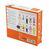 Набор магнитов Viga Toys Гардероб девочки (59652), фото 4