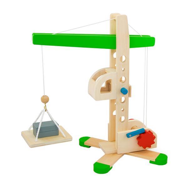 Деревянная игрушка Viga Toys Подъемный кран (59698)